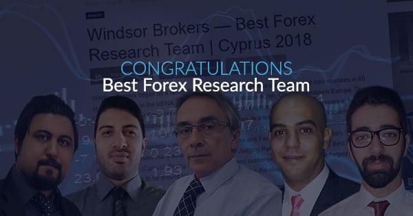 Forex Industry Leader Windsor Brokers Receives Best Forex